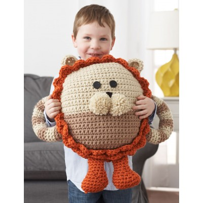 Huggable Lion Pillow