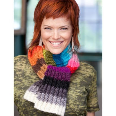 Color Card Scarf