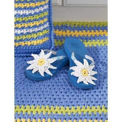 Flip Flops With Daisies