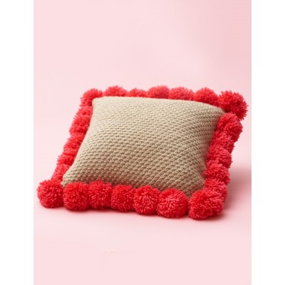Pompom-Edged Pillow