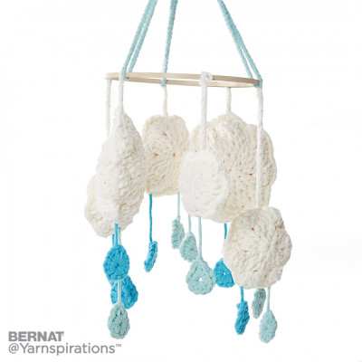 Bernat Cloudy Day Crochet Mobile