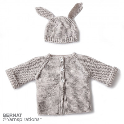 Knit Baby Jacket Set