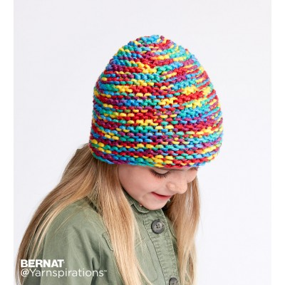 Make It Snappy Knit Hat