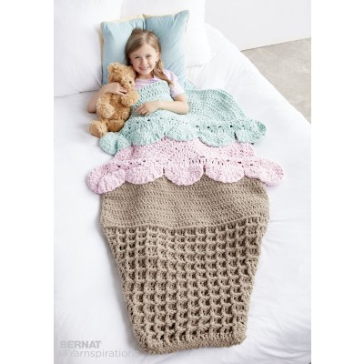 Double Scoop Crochet Snuggle Sack