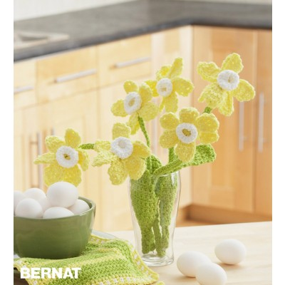 Daffodil Crochet Bouquet