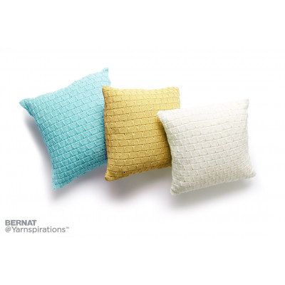 Knit Pillow Trio