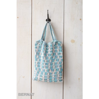 Hamptons Crochet Beach Bag