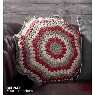 Puffed Up Crochet Pillow