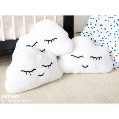 Heads in the Cloud Knit Pillow