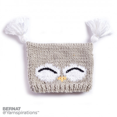 I'm a Hoot! Knit Hat
