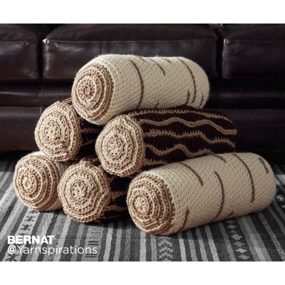 Crochet Timber Pillows