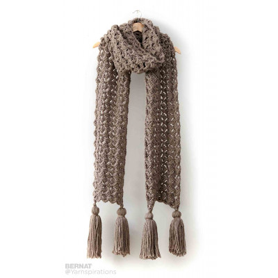 Pump Up The Volume Crochet Super Scarf