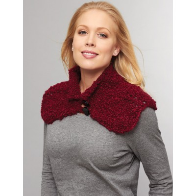 Buttoned Cowl to Crochet