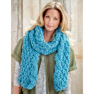 Cable Edge Scarf