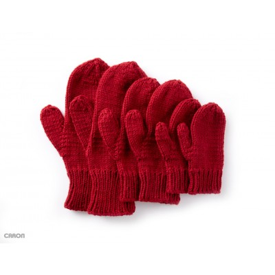 Basic Family Knit Mittens
