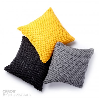 Pebble Pop Knit Pillows