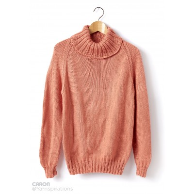 Adult Knit Turtle Neck Pullover