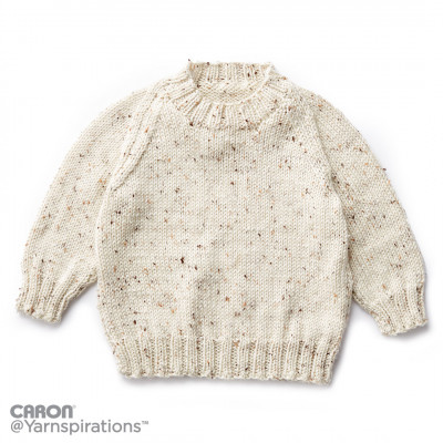Child's Knit Crew Neck Pullover