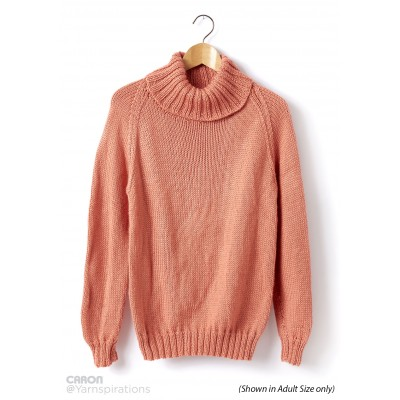 Childs Knit Turtle Neck Pullover