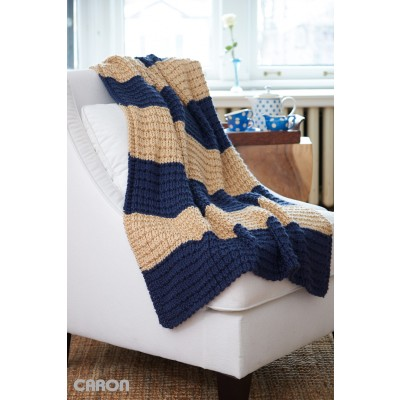 Easy Breezy Knit Afghan