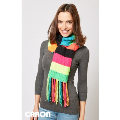 Simple Stripes Scarf (Knit Version)