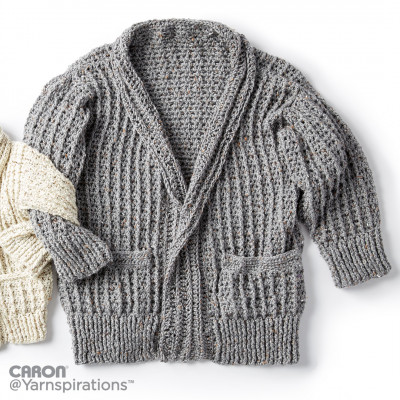 Crochet Chill Time Adult's Cardigan