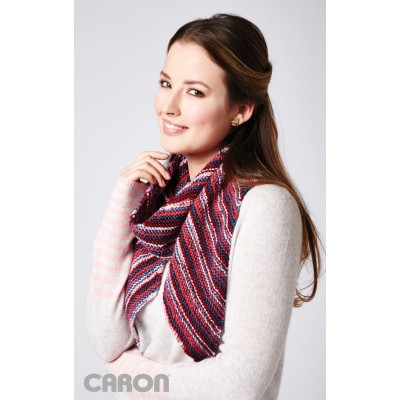 Bias Stripes Scarf