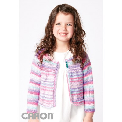 Fun and Flouncy Knit Cardigan
