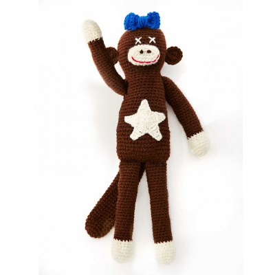 Lucy The Monkey (Crochet)
