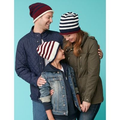 Family Striped Beanies
