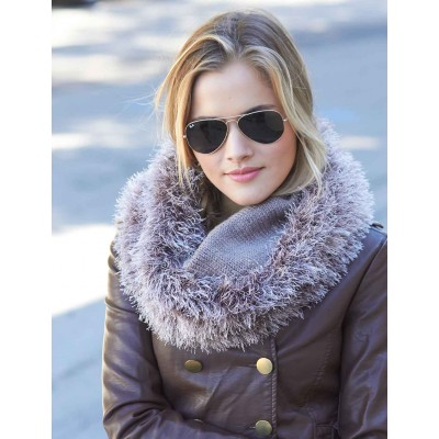 Fur Lined Reversible Cowl
