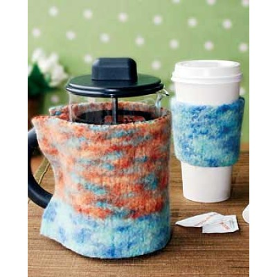 Natural Coffee Cozies