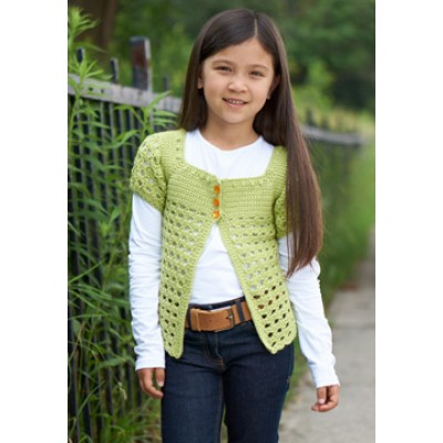 Girl's Playground Cardigan