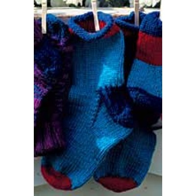 Child's Roll Top Socks