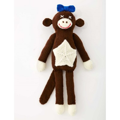 Lucy The Monkey (Knit)