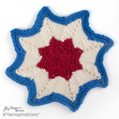 American Knit Dishcloth