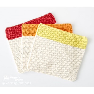 Dippity Doo Dah Knit Dishcloth