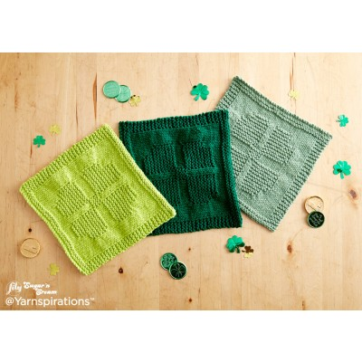 Lucky Charm Knit Dishcloth