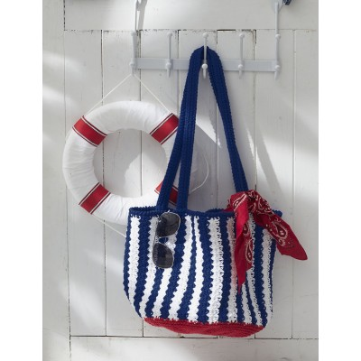 Nautical Striped Bag