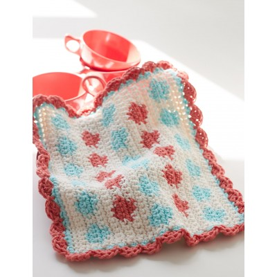 Polka Dot Dishcloth
