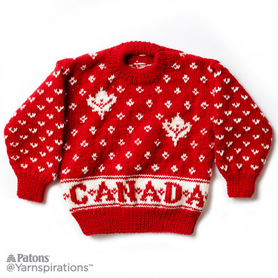 Canada Knit Kid's Sweater