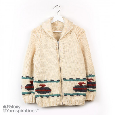 Knit Curling Sweater