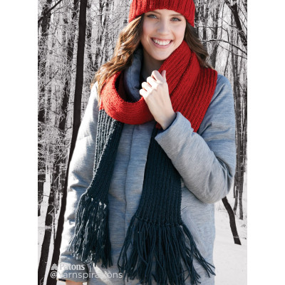 Double Dipper Knit Scarf