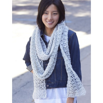 Snow Puff Scarf