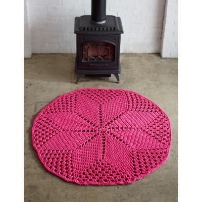 Diamond Daisy Rug