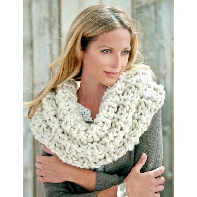 Shaker Rib Great Cowl