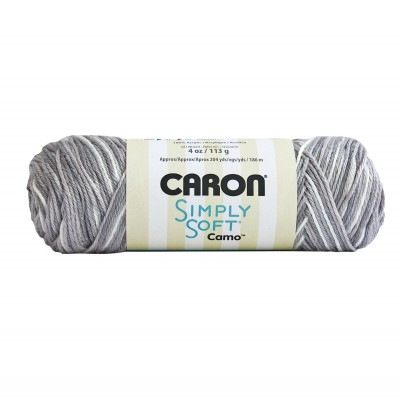 Simply Soft Camo Yarn
