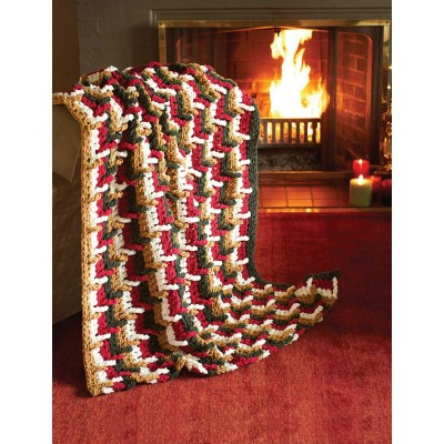 Step Ladder Afghan