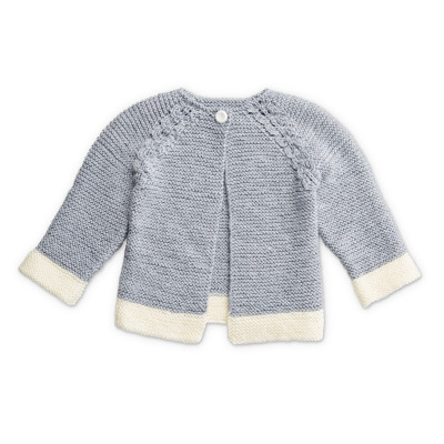 Dipped Detail Knit Cardigan
