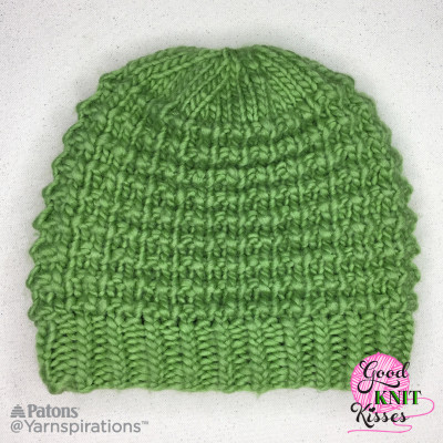 Patons Classic Wool Roving Easy Going Knit Hat